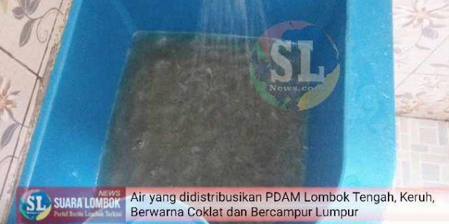 Karyawan Gemuk, Kinerja PDAM Lombok Tengah Kurus