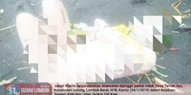 Pemulung di Lombok Barat Temukan Mayat Wanita Dalam Karung Plastik Tanpa Identitas