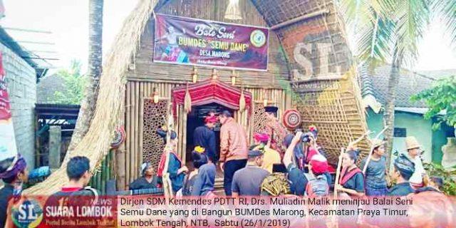 Launching Desa Wisata Marong, Perkenalkan Adat dan Budaya Sasak