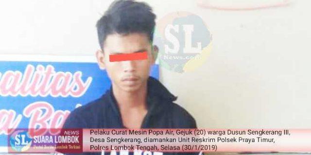 Kerap Curi Barang Tetangga, Pemuda Pengangguran di Praya Timur Ditangkap Polisi