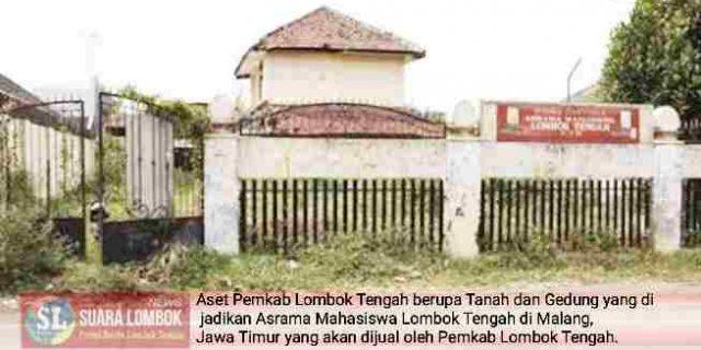 Aset Pemkab Lombok Tengah di Malang Jadi Sarang Preman