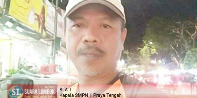 Diduga, Kepala SMPN 1 Praya Tengah Permainkan Dana Bansos Rehab Gedung Terdampak Gempa