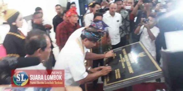 Menteri Arief dan Gubernur Zul Resmikan Kampus Poltekpar Negeri Lombok