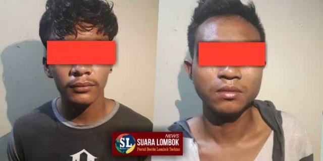 Mencuri di Rumah Polisi, Dua Pemuda Asal Desa Jago Diringkus Polisi