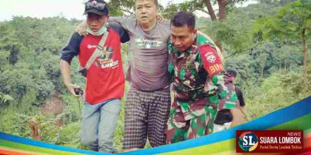 Gempa Lombok, Danrem 162/WB Perintahkan Pasukan Evakuasi Wisatawan Yang Terjebak Longsor di Air Terjun Tiu Kelep