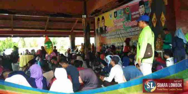 HUT Ke – 45 PPNI Lombok Tengah Gelar Jalan Santai