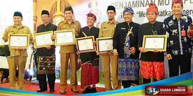 Di Sektor Pendidikan, Lombok Tengah Raih Penghargaan Ini