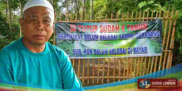 Saluran Air PLTMH Milik PT SDI di Lombok Tengah Disegel Warga
