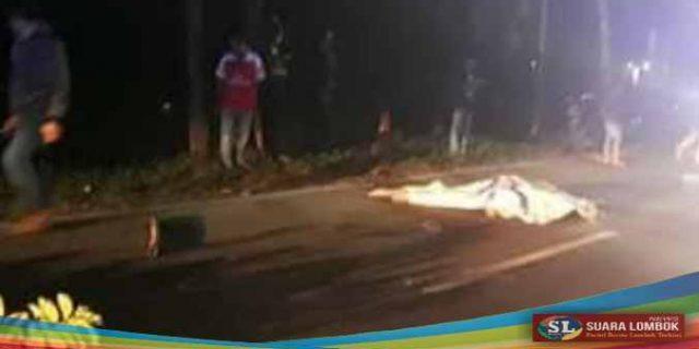 Jadi Korban Tabrak Lari, Pengendara Motor Asal Perbawe Tewas
