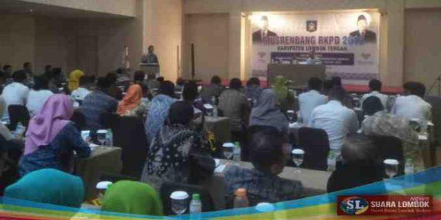 Lalu Pathul Buka Musrenbang RKPD Kabupaten Lombok Tengah Tahun 2019