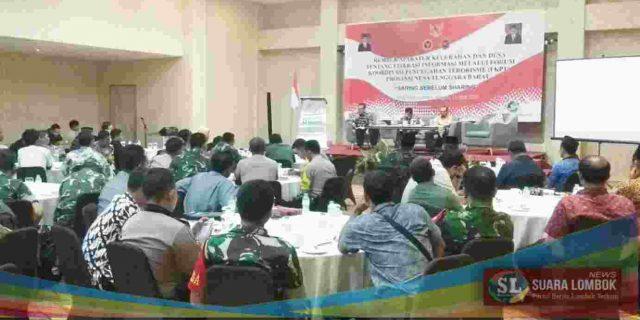 FKPT NTB Bersama BNPT RI Gelar Rembuk Aparatur Kelurahan dan Desa Tentang Literasi Informasi