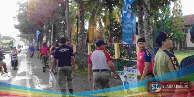 APK Caleg di Lombok Tengah Dikarung Sat Pol PP