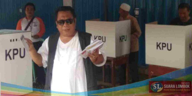 Bupati Lombok Tengah Nyoblos di TPS 15 Kampung Jawa