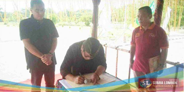 Pemkab Lombok Tengah dan PT. ITDC Teken Kerjasama Pengelolaan Bazar Mandalika