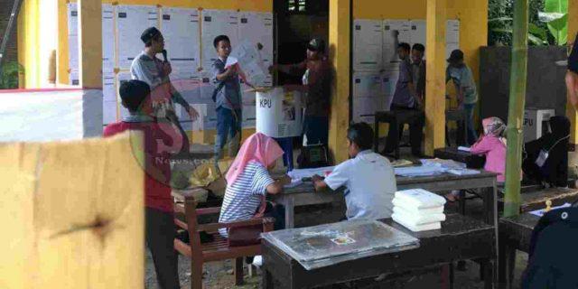 Pelaksanaan PSU di 2 TPS di Lombok Tengah Berjalan Lancar