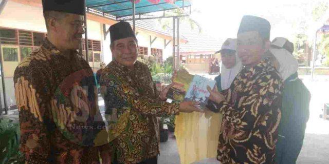 MTsN 1 Lombok Tengah Gelar Perpisahan dan Pelepasan Siswa Kelas IX