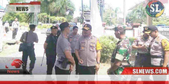 Pasca Bentrok Warga vs Polisi, Kapolda NTB Tinjau Lokasi Rapat Pleno KPUdi Lombok Tengah