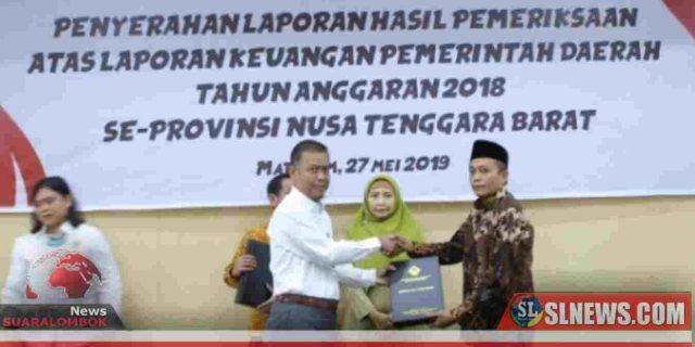 Pemkab Lombok Tengah Kembali Raih WTP ke – 7
