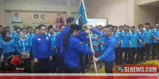 Ketua dan Pengurus DPD KNPI Lombok Tengah Dilantik