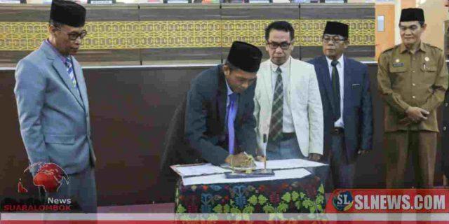 Dewan Setuju KUA – PPAS APBD Lombok Tengah 2020