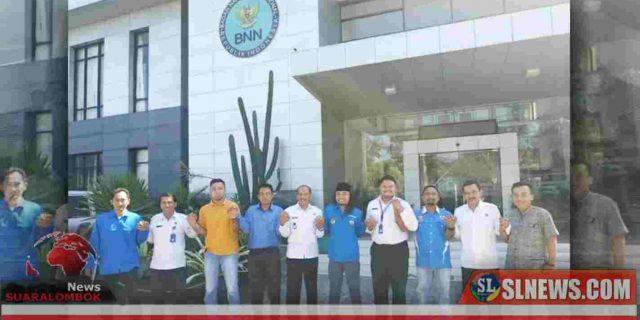 Pembentukan BNK Sesuai MoU KNPI Lombok Tengah Bersama BNN