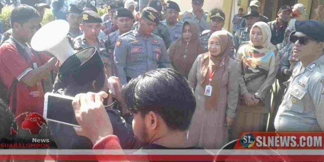 Rudal Hantam Disdukcapil  Lombok Tengah