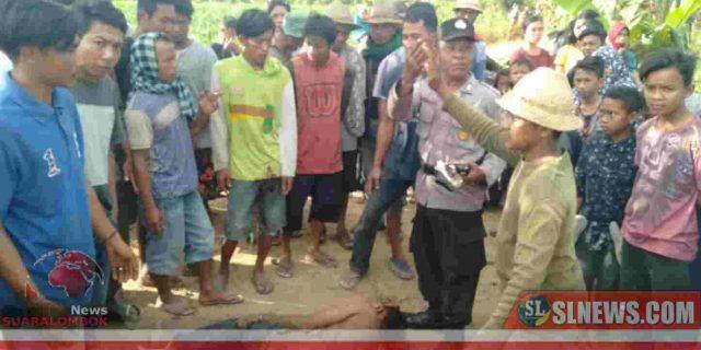 Pelaku Curanmor di Lombok Tengah Nyaris Tewas Diamuk Massa, Beruntung Nyawanya Bisa Diselamatkan Polisi