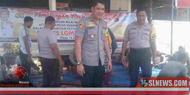 Ini Cara Polres Lombok Tengah Teladani Kisah Nabi Ibrahim