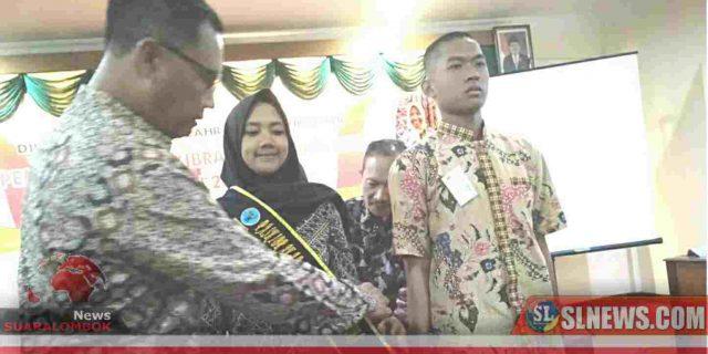 BNNP NTB Tunjuk Anggota Paskibraka 2019 Jadi Duta Anti Narkoba
