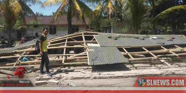 6 Siswa MI di Lombok Tengah Tertimpa Bangunan Sekolah