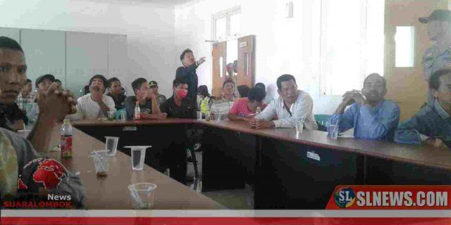 Warga dan Anggota Dewan di Lombok Tengah Nyaris Baku Pukul