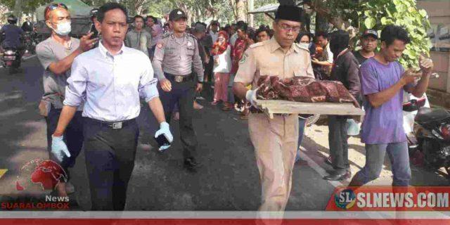 Jasad Bayi Laki – Laki Terbungkus Kain Gegerkan Warga di Lombok Tengah