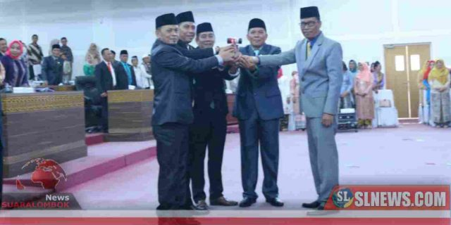 Empat Pimpinan Definitif DPRD Lombok Tengah Resmi Dilantik