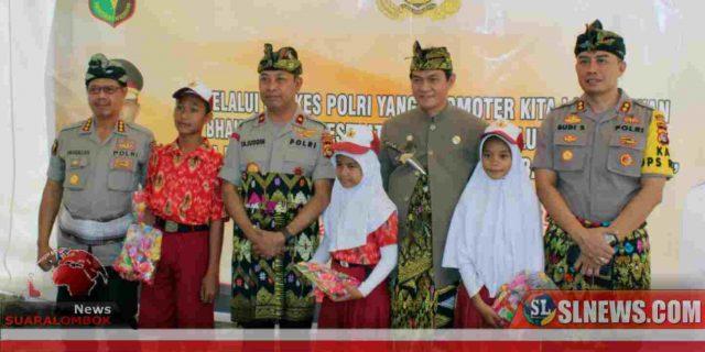 Ini Yang Dilakukan Polisi di Hari Jadi ke 74 Lombok Tengah 2019