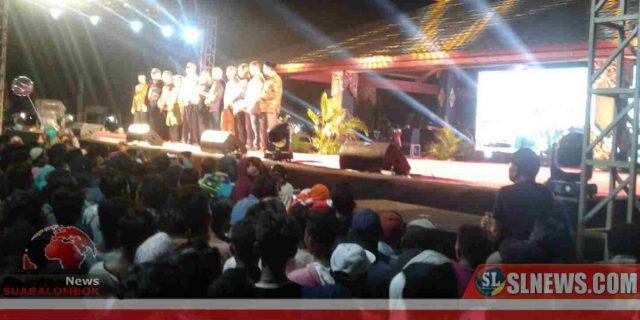 Ribuan Masyarakat Tumpah Ruah di Pembukaan Pasar Rakyat Mandalika Solah, Soleh, Soloh 2019