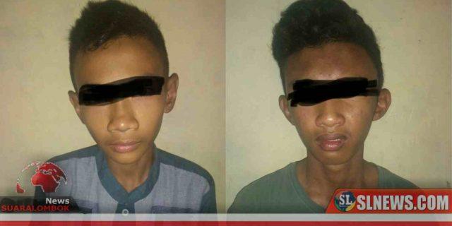Dua Pencuri Ingusan di Lombok Tengah Nekat Mencuri di Rumah Polisi