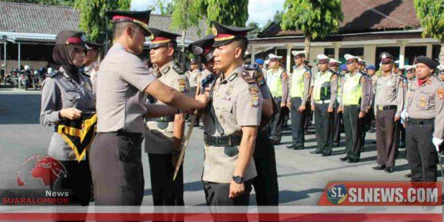 Ini Perintah Kapolres Lombok Tengah Kepada Kapolsek Batukliang dan Kapolsek Pujut Yang Baru
