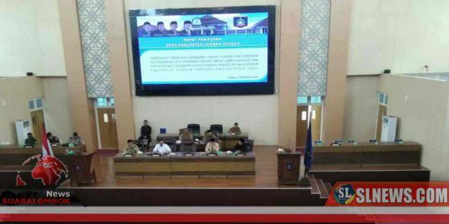 Dewan Dengarkan Penjelasan Pemkab Lombok Tengah Terhadap Nota Keuangan dan Rancangan APBD Tahun 2020