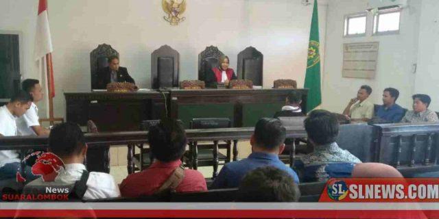 Dua Terdakwa Pemagar Lahan Sirkuit motoGP di Lombok Tengah di Vonis 1 Bulan Penjara