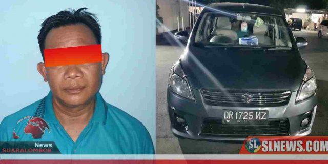Ini Identitas Pelaku Pencuri Mobil Dinas Kadisperindag Lombok Tengah