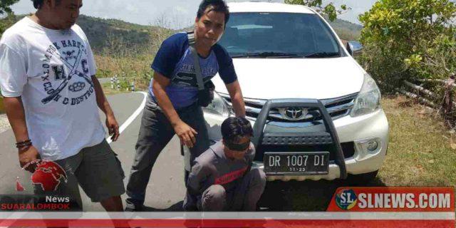 Penumpang Yang Mencuri Mobil Sopir Grab di Lombok Tengah Diringkus Polisi