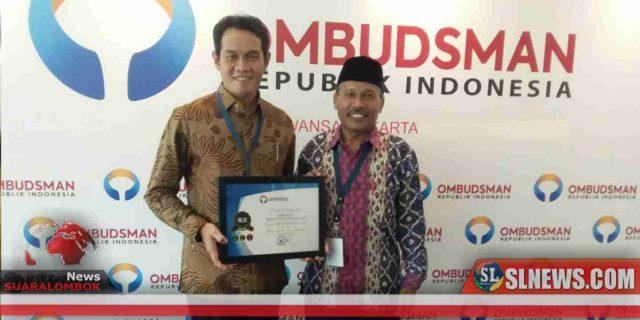 Pemkab Lombok Tengah Dapat Nilai 96,52 Dari Ombudsman RI