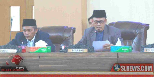 Banggar DPRD Lombok Tengah Sampaikan Hasil Pembahasan Nota Keuangan dan Rancangan APBD 2020