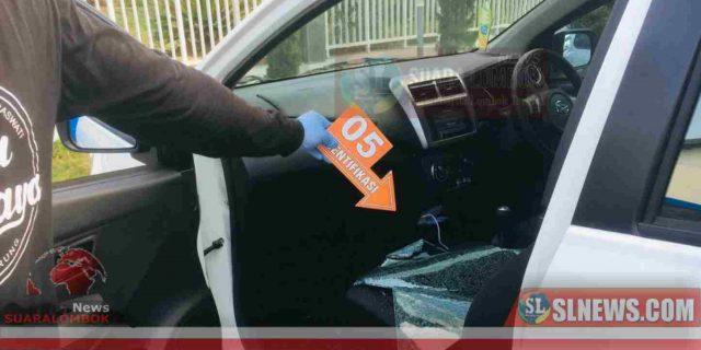 Parkiran Bank NTB Cabang Praya Kebobolan