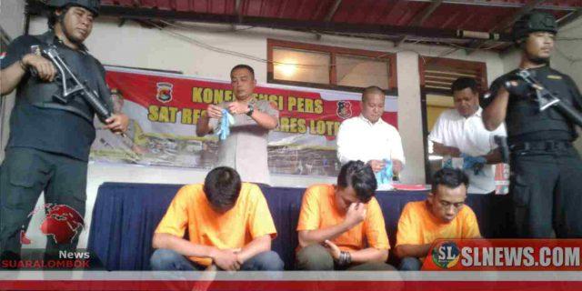 Kronologis Polisi OTT 3 Oknum Fasilitator di Lombok Tengah