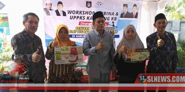 Warga Kampung KB di Lombok Tengah Dapat Bantuan TG