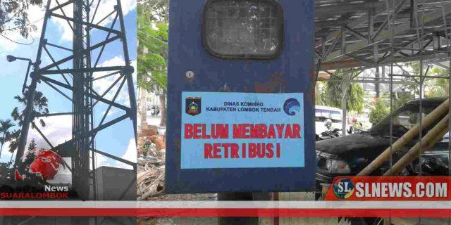 230 Tower Telekomunikasi di Lombok Tengah Belum Bayar Retribusi