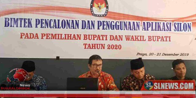 KPU Lombok Tengah Haramkan Badan Adhoc Dari Unsur Parpol