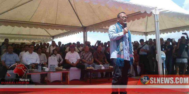 Di Lombok, Menteri Edhy Pertimbangkan Budidaya dan Ekspor Belur Lobster