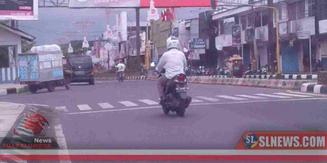 Diduga Demi Kepentingan Pemilik Mini Market, Dishub Lombok Tengah Tutup Simpang 4 Pos Polisi Kota Praya